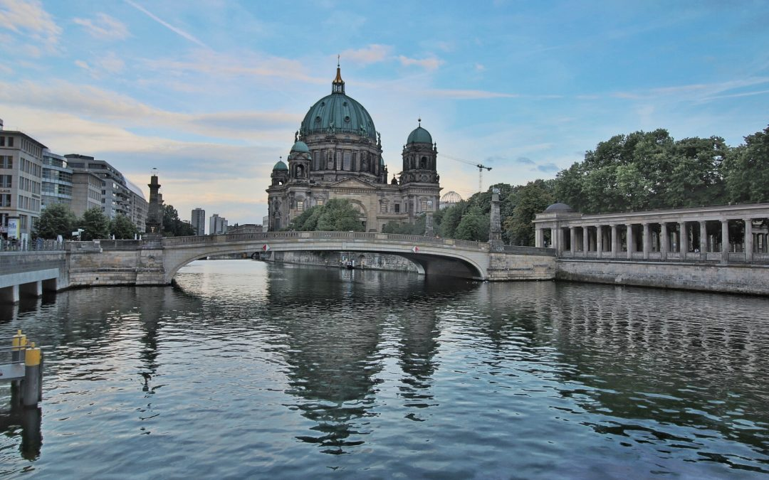 The Museum Island of Berlin already has a new building: the James-Simon-Galerie